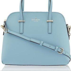 kate spade Bags - Kate Spade Baby Blue Cedar Street Maise Satchell